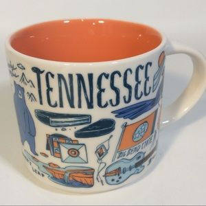 Starbucks Been There Series Tennessee Mug 2017